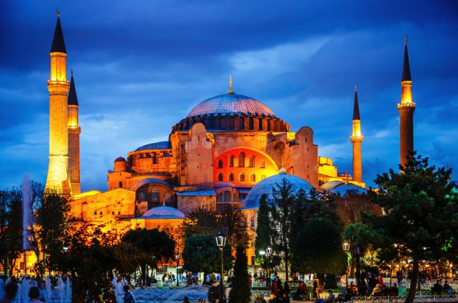 Santa Sofía en Estambul, Turquía, es un hito de la historia de la arquitectura. (Foto: El País)