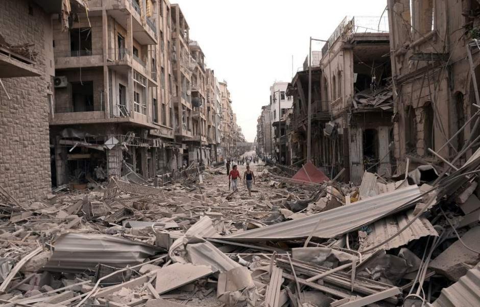 La escena fue impactante para Mahmoud porque en el pequeño de 4 años vio a su hija. (Foto: 20minutos.com)