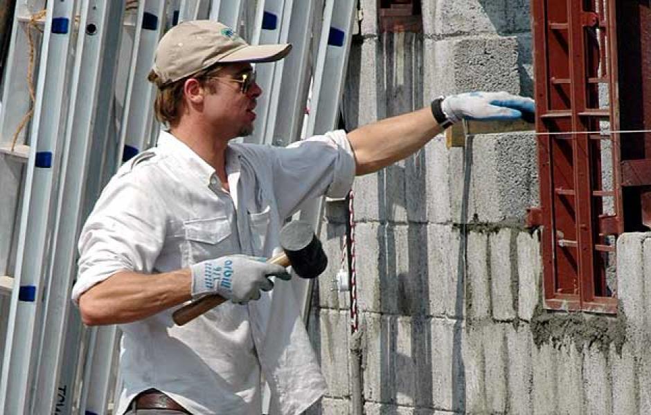 Brad Pitt trabajó como repartidor de refrigeradoras y chofer de limusina. (Foto: 20minutos.es)