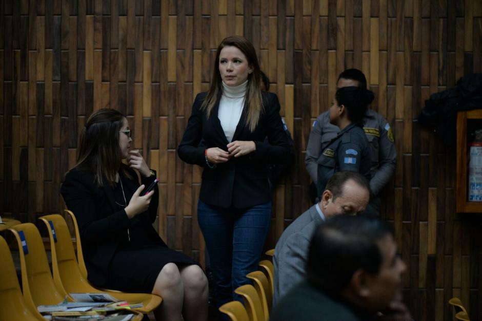 Daniela Beltranena aún no ha solicitado medidas sustitutivas, pero sus abogados preparan los alegatos. (Foto: Wilder López/Soy502)