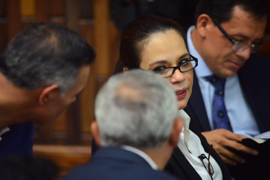 La exvicepresidenta Roxana Baldetti podría rendir su primera declaración en el caso Cooptación del Estado. (Foto: Jesús Alfonso/Soy502)
