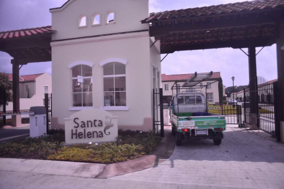 Anabella de León no quería dejar su vivienda en el condominio Santa Helena en Condado Naranjo. (Foto: Archivo/Soy502)