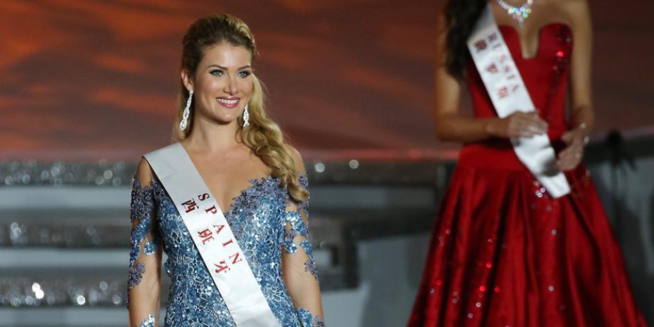 La ganadora del certamen, Mireia Lalaguna, es una joven catalana de 22 años. (Foto: Latercera)