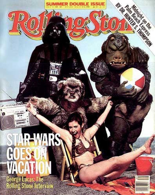Esta es la foto que utilizaron para la portada de la revsita Rolling Stone de ese entonces. (Foto: Rolling Stone)