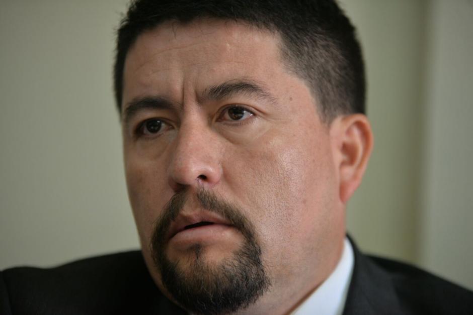 Victor Alvarizaes fue electo alcalde de Santa Catarina Pinula y sustituyó a Antonio Coro. (Foto: Wilder López/Soy502)