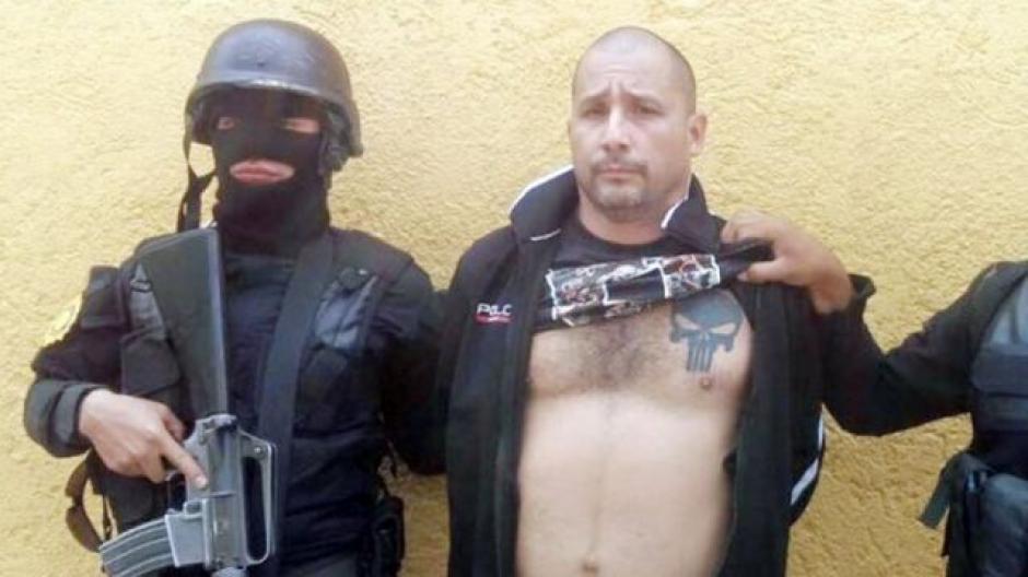 """Marlon Monroy, alias """"El Fantasma"""" es requerido para extradición por Estados Unidos. (Foto: PNC)"""
