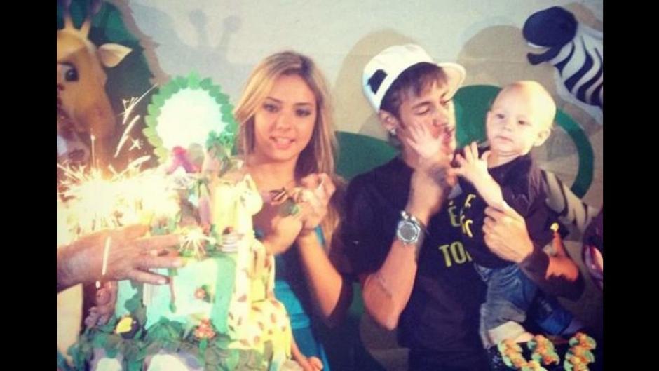 Carolina Dantas y Neymar disfrutan el crecimiento de su hijo Davi Lucca. (Foto: Instagram)