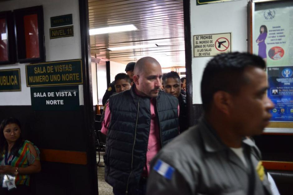 Marlon Monroy se encuentra en prisión preventiva mientras se autoriza la extradición a EE.UU. (Foto: Jesús Alfonso/Soy502)