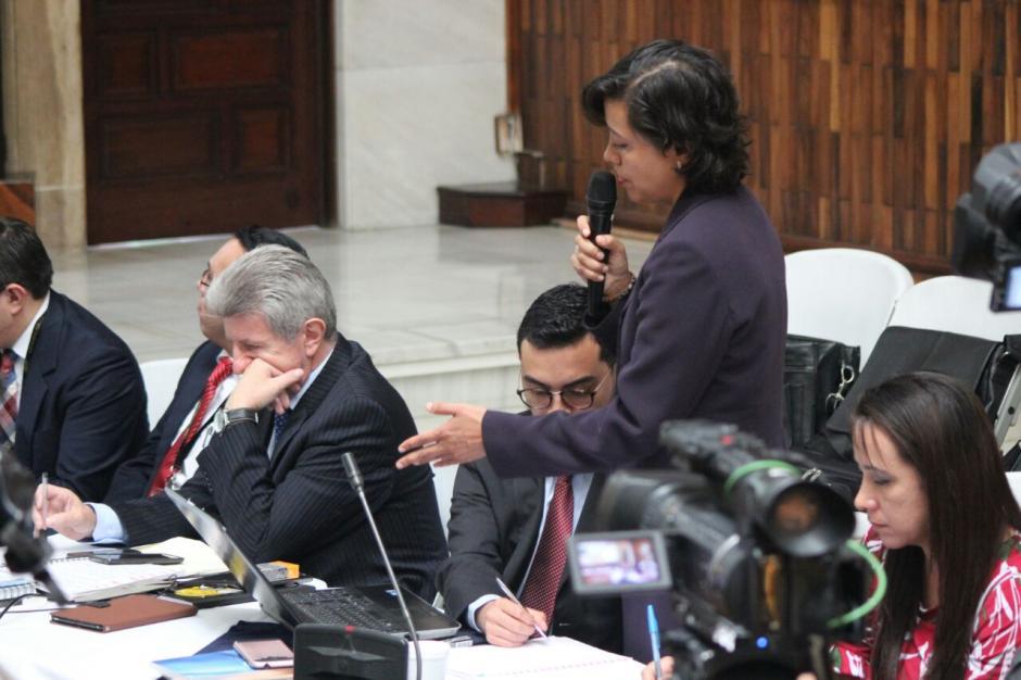 La abogada de CICIG concluyó con que se ligue a proceso a los 57 implicados. (Foto: Alejandro Balan/Soy502)