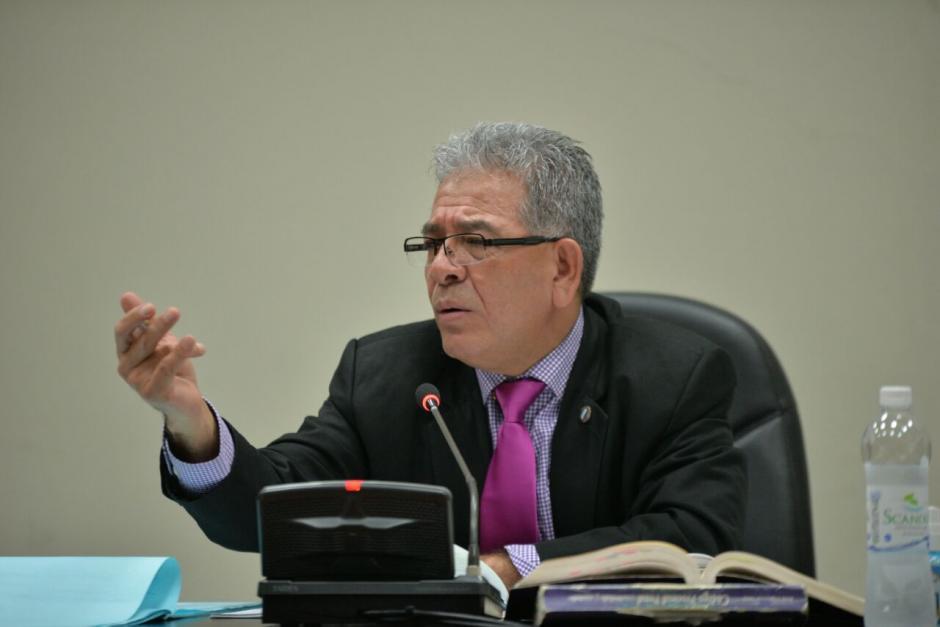 El juez Miguel Ángel Gálvez aún está a cargo del caso Siekavizza. (Foto: Wilder López/Soy502)