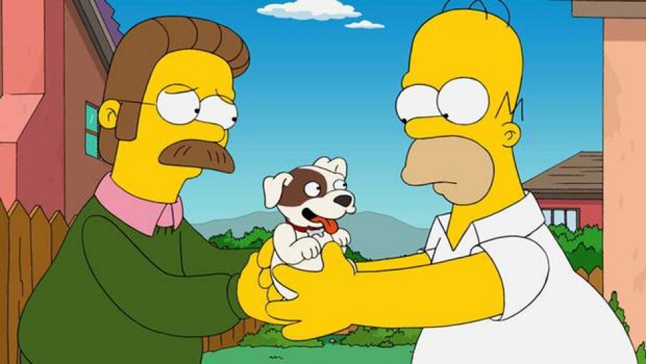 El actor no llegó a un acuerdo para continuar haciendo la voz de Flanders hace unos años. (Foto: 24 Horas)
