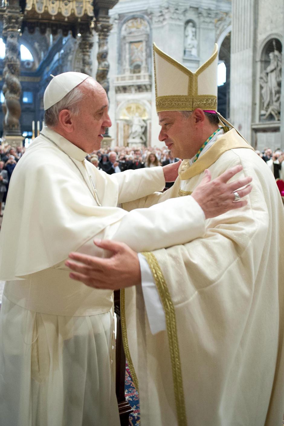 """La conocida revista Forbes ubicó al Papa Francisco en el cuarto lugar de la lista de """"Las personas más poderosas del mundo"""", elaborada para el año 2013. (Foto: Obsservatore Romano/EFE)"""