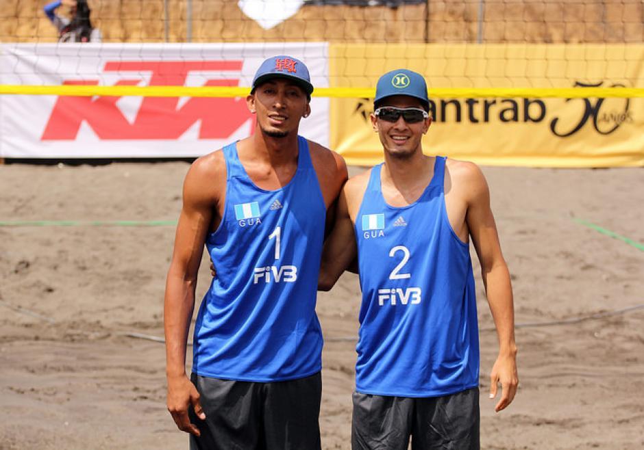 Los guatemaltecos, Andy Leonardo y Luis García. (Foto: COG)