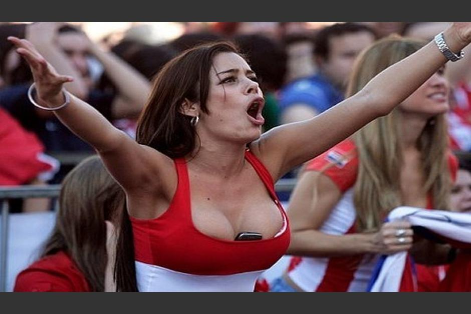 "Larissa Riquelme fue la ""Novia del Mundial"" en Sudáfrica 2010. (Foto: Clarin.com)"