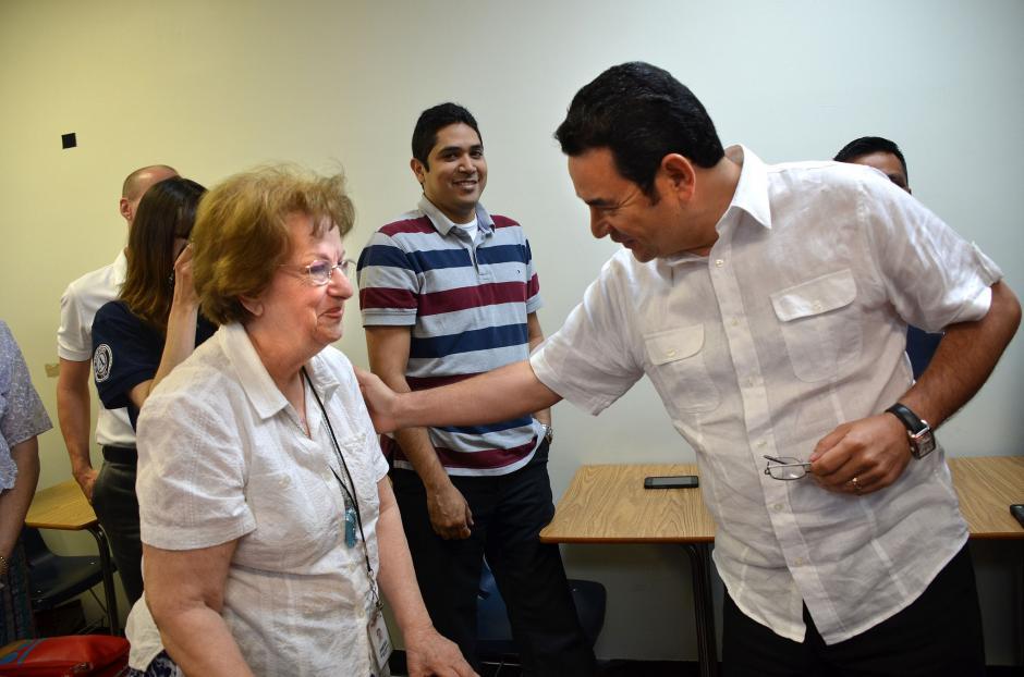 En abril también visitó centros de migrantes. (Foto: Flickr Gobierno de Guatemala)