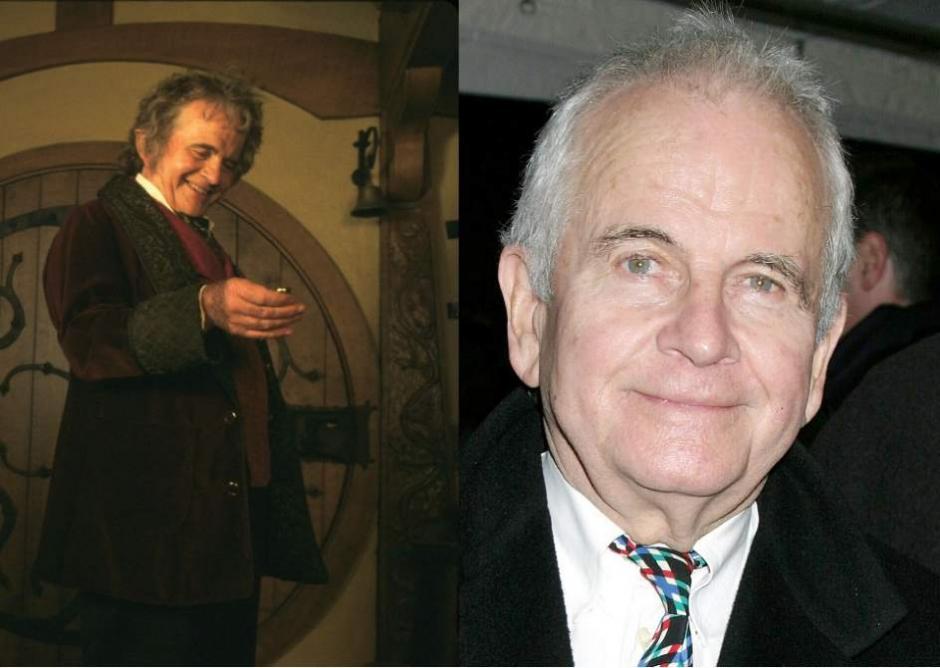 Ian Holm personificó a Bilbo Bolsón en la trilogía épica que adaptó la novela El Señor de los Anillos. (Foto: 20Minutos.es)