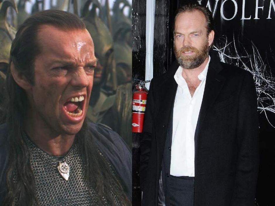 """Hugo Weavinge es conocido por su papel como Elrond en """"El Señor de los Anillos"""". (Foto: 20Minutos.es)"""