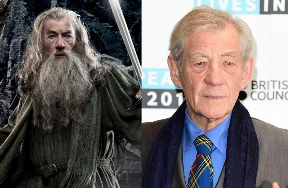 """El actor Ian Mckellen, interpretó en """"El señor de los Anillos"""" a Gandalf el Gris. (Foto: 20Minutos.es)"""