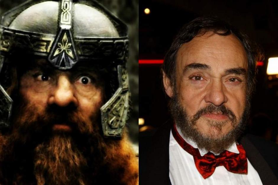 """John Rhys-Davies encarna al enano Gimli en """"El Señor de los Anillos"""". (Foto: 20Mimutos.es)"""