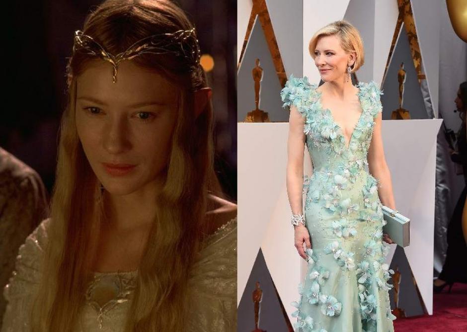 """Cate Blanchett formó parte de la trilogía de """"El Señor de los Anillos"""", como la reina elfa Galadriel. (20Minutos.es)"""
