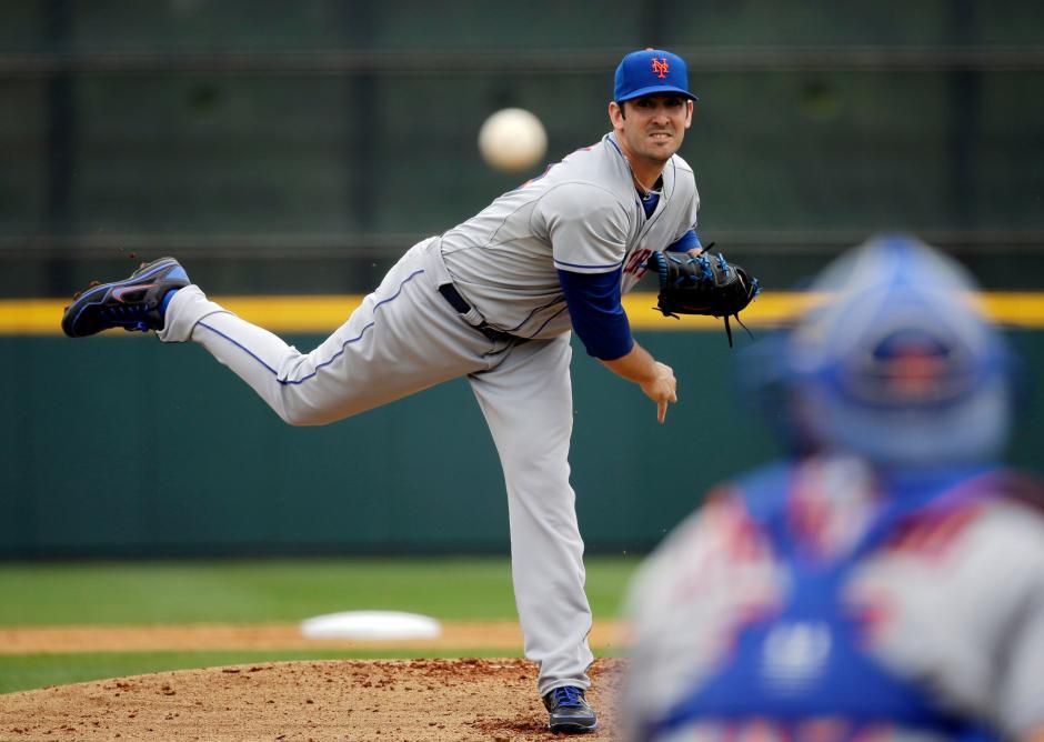 Matt Harvey aseguró su hombro tras una temporada cargada con los Mets
