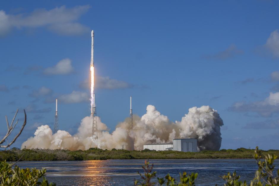 El cohete Falcon 9 ha despegado con éxito del puerto espacial de Cabo Cañaveral  (Foto: SpaceX)