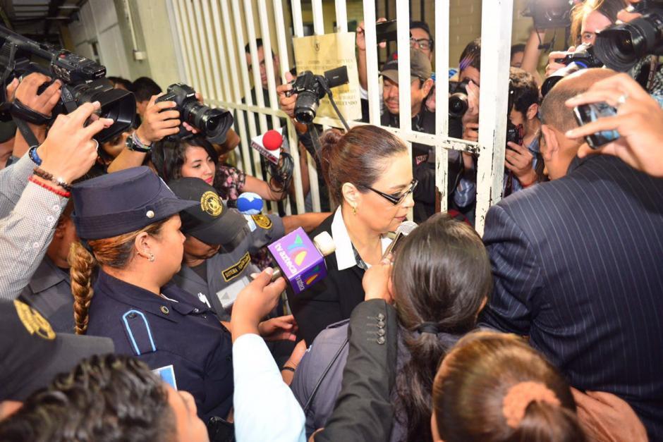 Baldetti se encuentra en prisión por otros casos en los que se le sindica.  (Foto: Jesús Alfonso/Soy502)