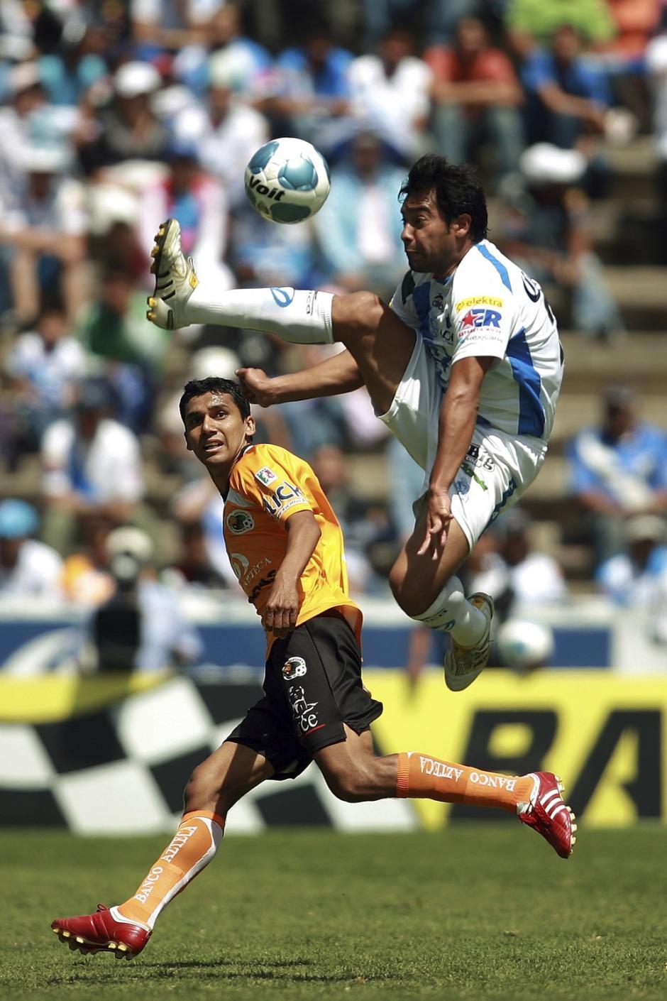 Con el Puebla Ruiz tuvo un lugar especial. (Foto: Twitter)