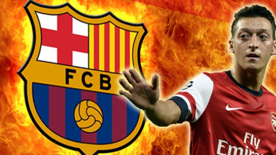 Mesut Özil lo quiere el barcelona foto