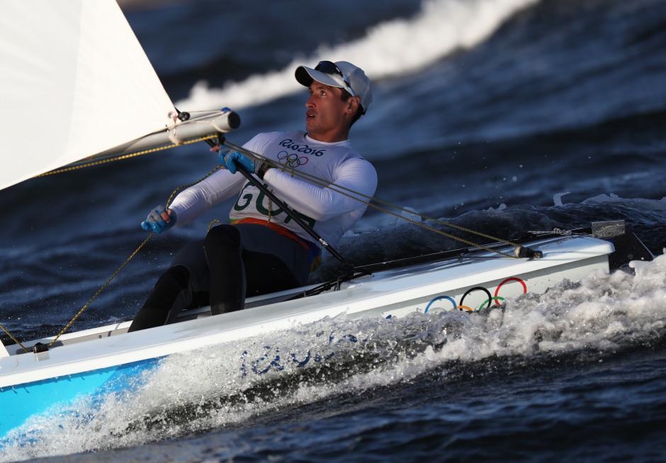 Juan Ignacio Maegli terminó la clasificación en la posición ocho, de la tabla general. (Foto: Comité Olímpico Guatemalteco)