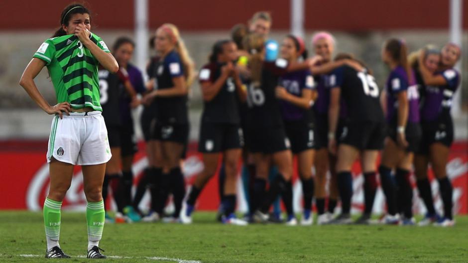 Estados Unidos derrotó con gol de último minuto a las mexicanas. (Foto: Fifa)