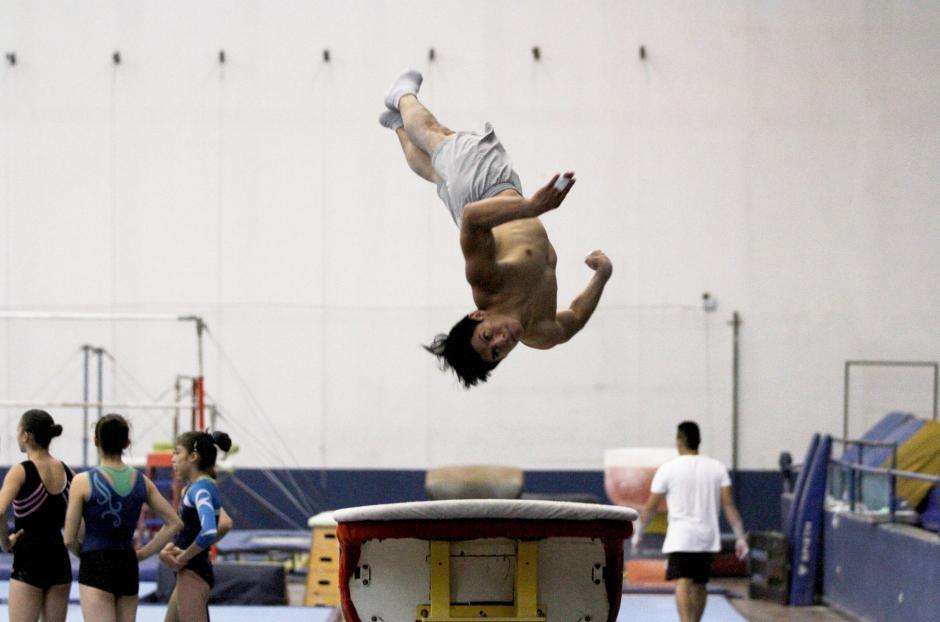 """En salto y piso competirá el """"Pequeño gigante"""". (Foto: Comité Olímpico Guatemalteco)"""