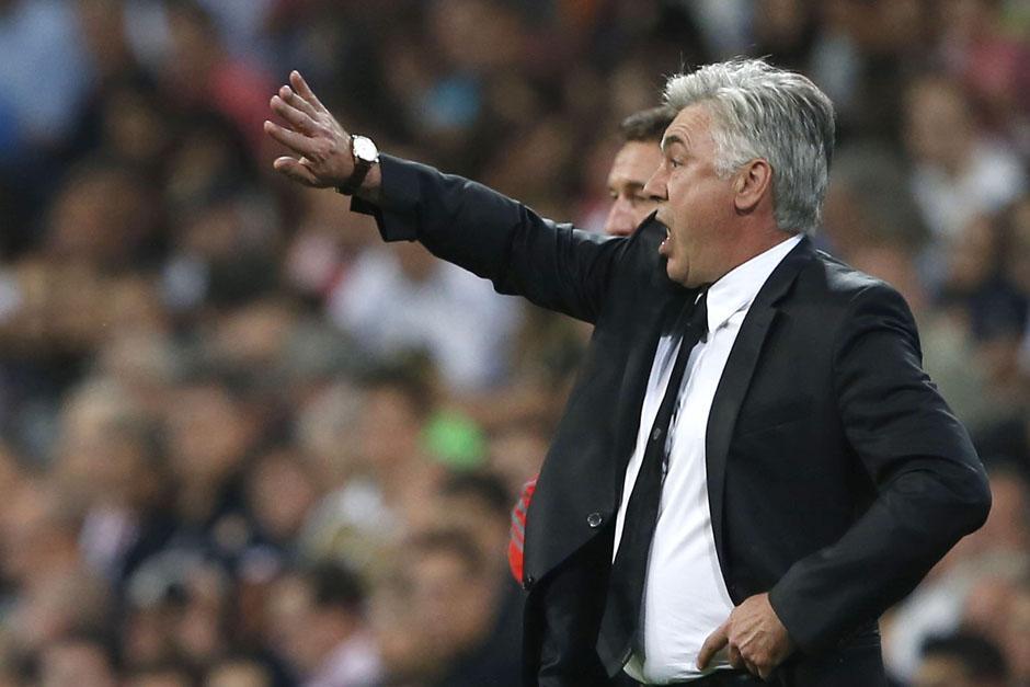 Carlo Ancelotti dirige a los merengues ante el Copenhage.
