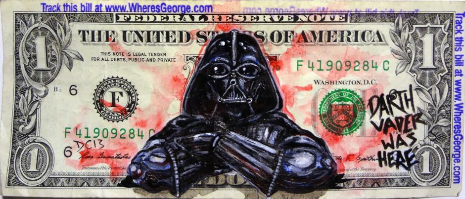 Darth Vader: El señor oscuro. (Foto: artes9.com)