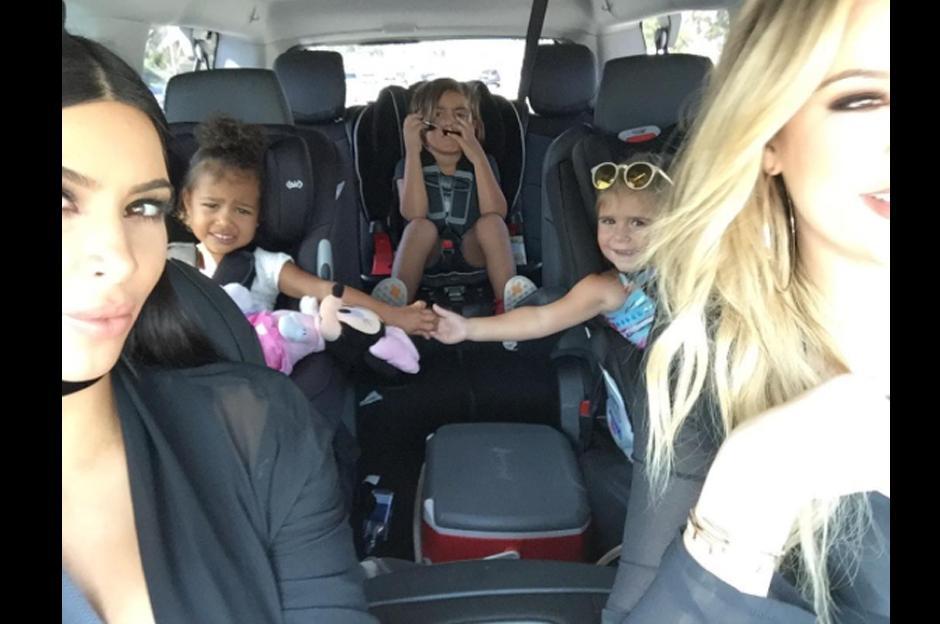 La pequeña fue sorprendida por los paparazzi al llegar a su clase de ballet en Los Ángeles.