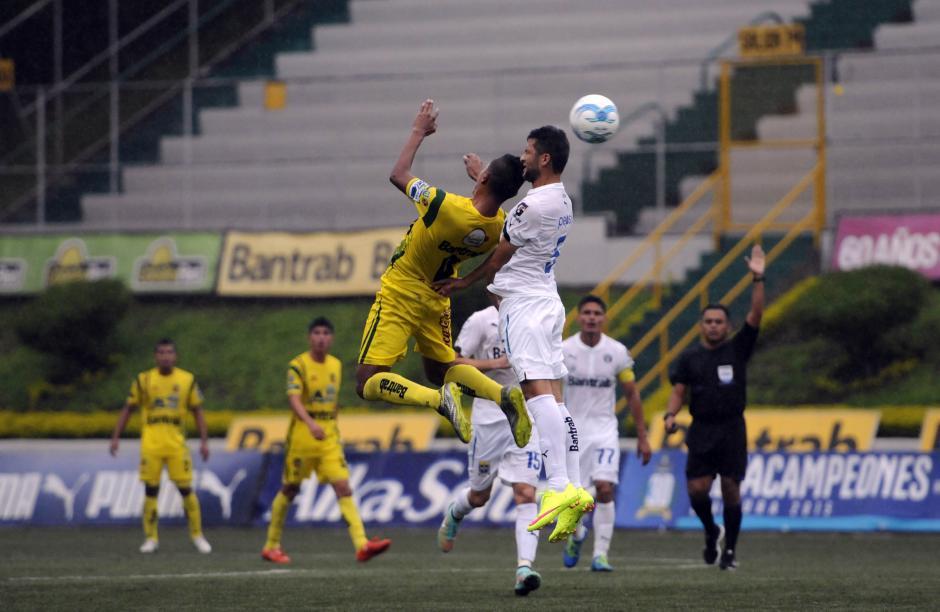 En un entretenido partido empató Comunicacione y Marquense, en el estadio Cementos Progreso.