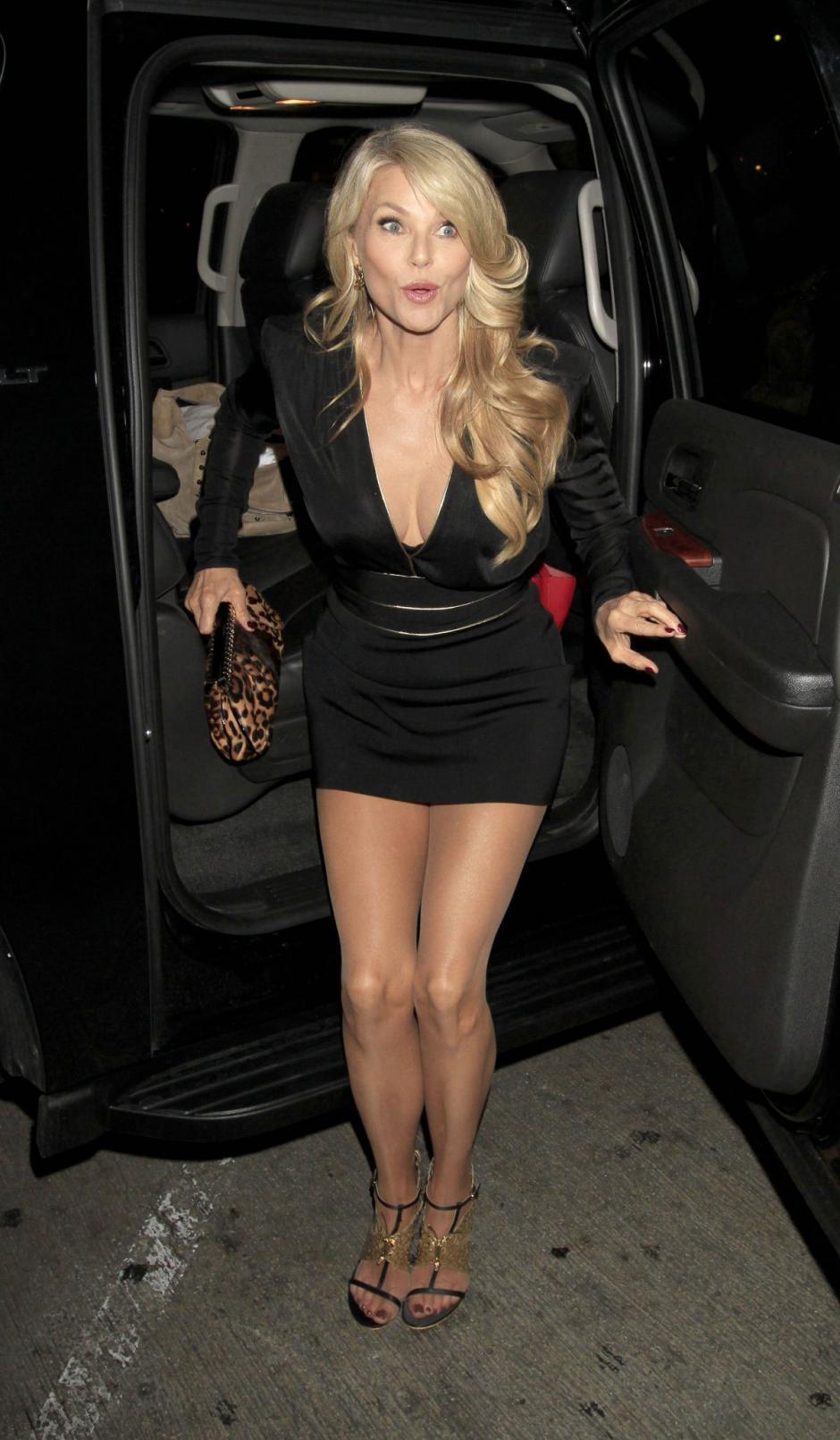 """Christie protagonizó el videoclip de la canción """"Uptown Girl"""", de Billy Joel. (Foto:justfabzz.com)"""
