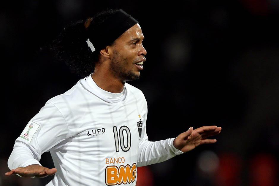 Ronaldinho había puesto el 1-1 parcial