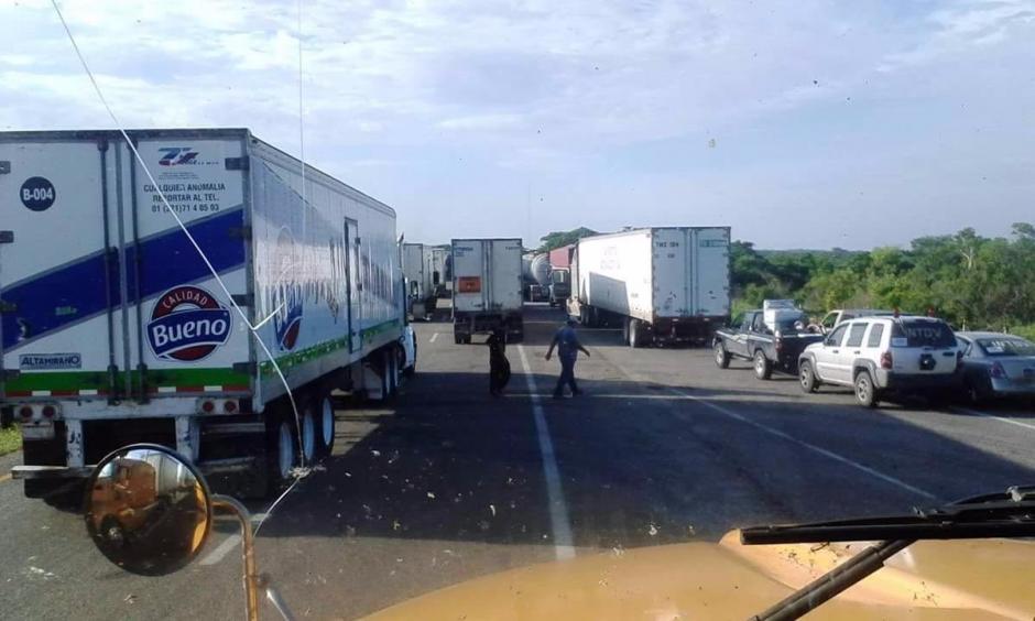 Desde hace 10 días las aduanas de Tecún Umán, El Carmen y La Mesilla están detenidas. (Foto: CIG)