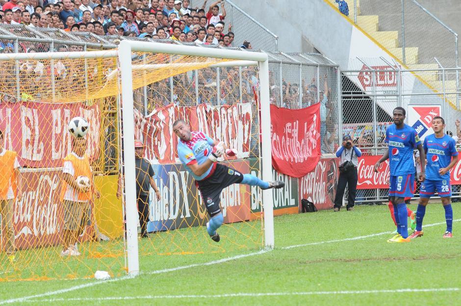 Coatepeque perdió la ventaja que tenía ante Municipal y ahora se encuentra de nuevo en zona de descenso. (Foto: Nuestro Diario)