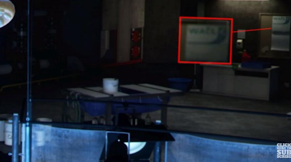 El calendario en una pared del acuario se lee Wall-E, igual que el personaje de otra película de Pixar. (Foto: Captura YouTube)