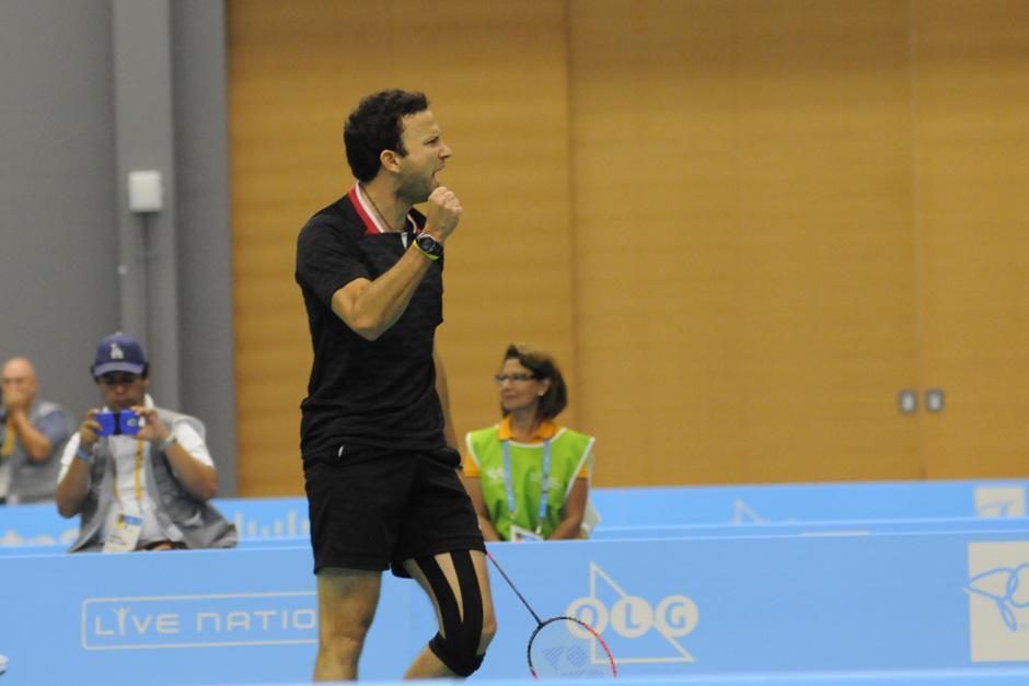 Kevin festejó su segundo oro en Juegos Panamericanos, ya que ganó uno en Guadalajara 2011. (Foto: Pedro Mijangos/Soy502)