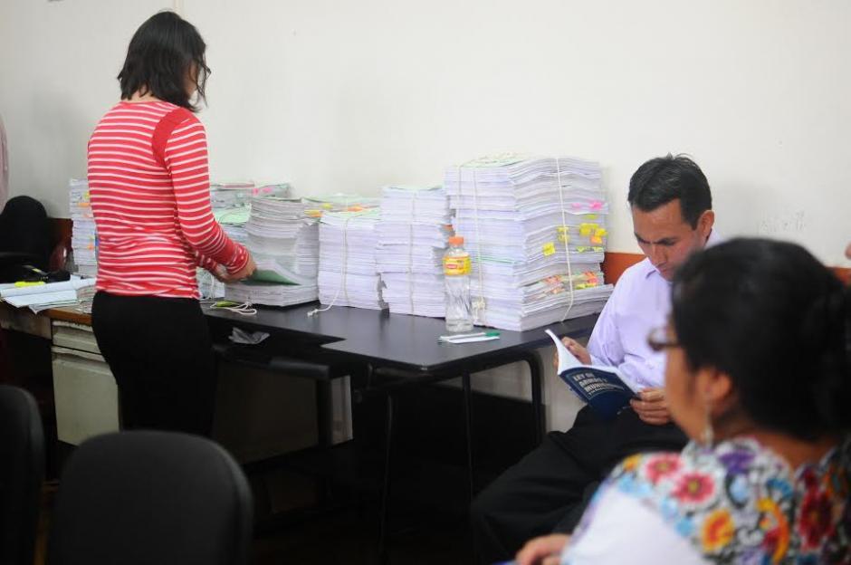 El Tribunal rechazó el recurso que trataba de frenar el inicio del juicio por genocidio. (Foto: Alejandro Balán/ Soy502)