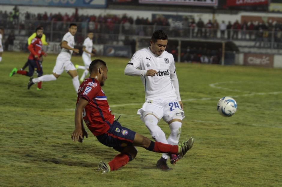 Comunicaciones pierde 2-1 ante Xelajú. (Foto: Nuestro Diario)