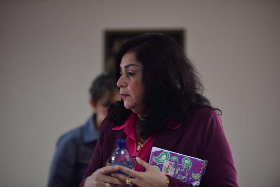 Este lunes se inició el juicio contra la exjueza Jisela Reinoso. (Foto: Jesús Alfonso/Soy502)