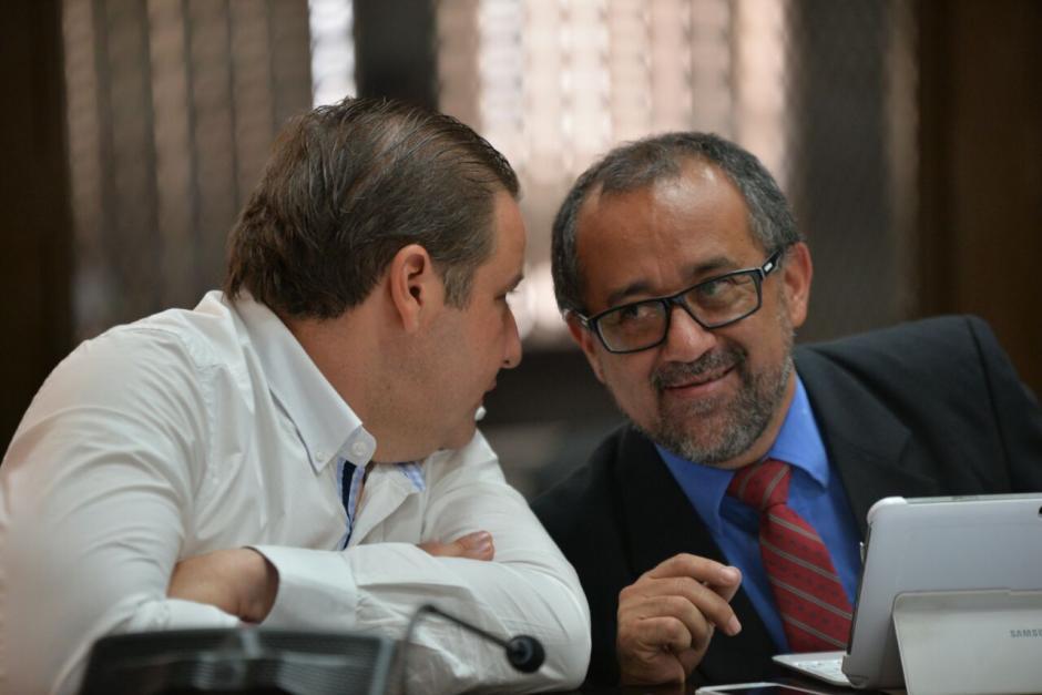 Roberto Barreda despidió en plena audiencia a su abogado, pero el juez no aceptó esa estrategia, diciendo que lo único que pretendían era suspender la audiencia. (Foto: Wilder López/Soy502)