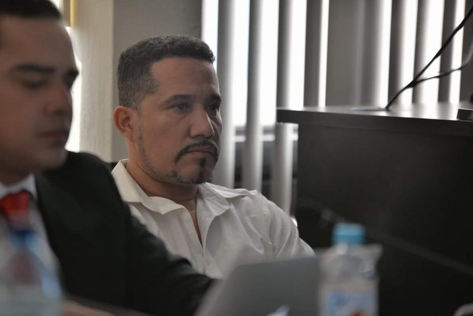 José Estuardo Blanco Aguilar, ex jefe de guardaespaldas de Pedro Muadi. (Foto: Wilder López/Soy502)