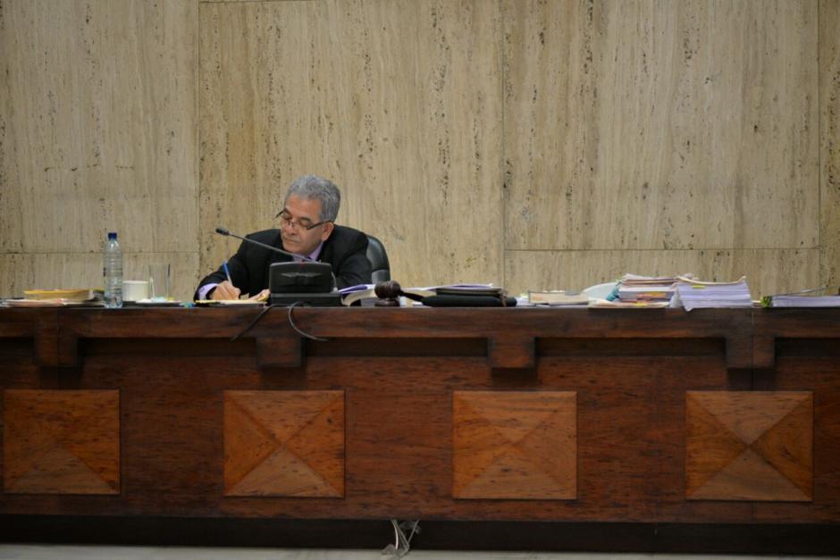 El juez Miguel Ángel Gálvez, le ha dedicado un mes al caso Cooptación del Estado. (Foto: Wilder López/Soy502)