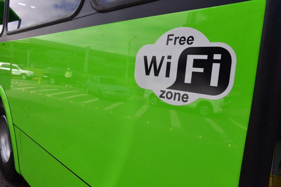 Los pasajeros podrán tener acceso a internet inalámbrico al abordar las unidades. (Foto: Jesús Alfonso/Soy502)