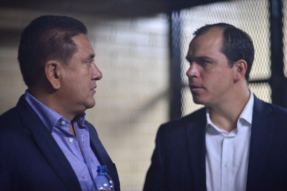 En el caso Cooptación del Estado se encuentran vinculados Gustavo Alejos y Dwight Pezzarossi. (Foto: Jesús Alfonso/Soy502)